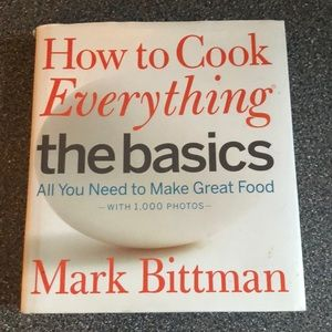 Other - How to cook everything ... the basics cookbook